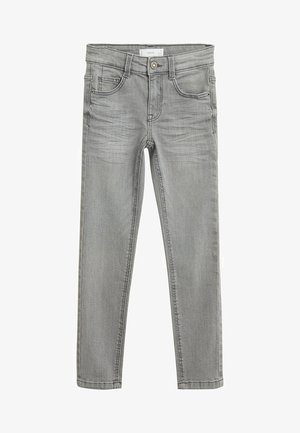 SLIM - Slim fit jeans - šedá denim