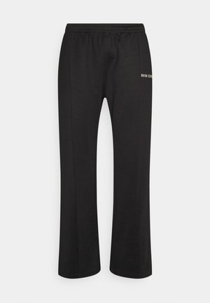 LOGO PANTS UNISEX - Trainingsbroek - black