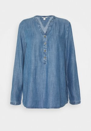 BLOUSE - Blouse - blue medium wash
