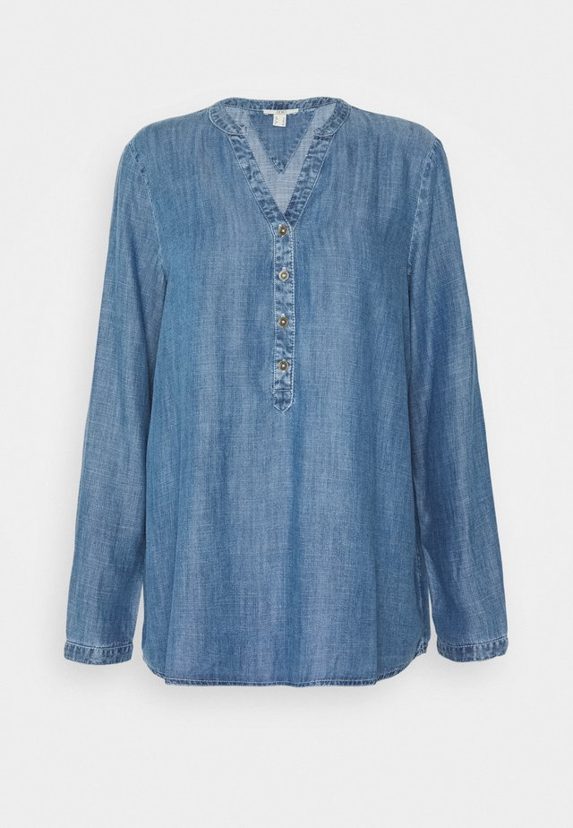 BLOUSE - Blusa - blue medium wash