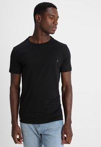 Replay - 2 PACK - T-shirt basic - black - 1