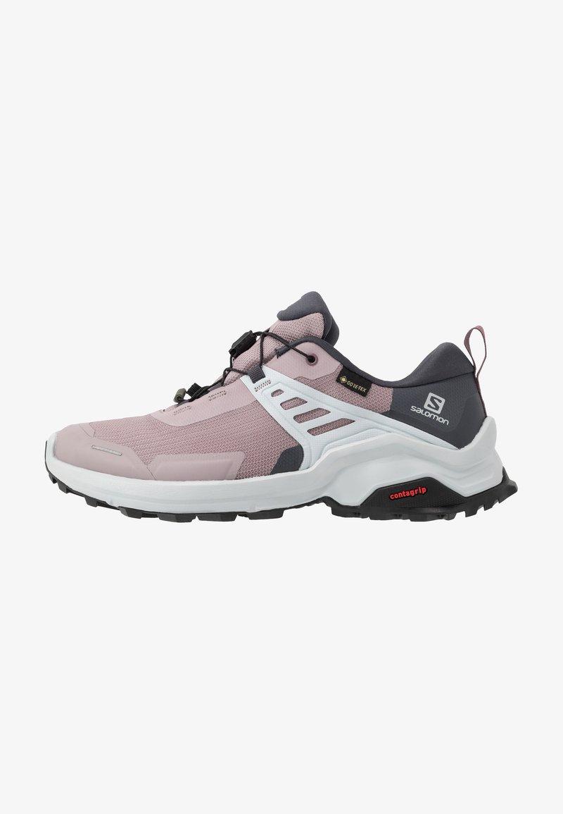 Salomon - X RAISE GTX - Hiking shoes - quail/india ink/flint