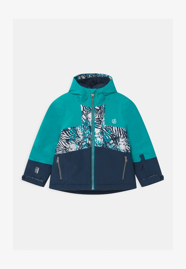 CAVALIER UNISEX - Snowboard jacket - light blue/dark blue