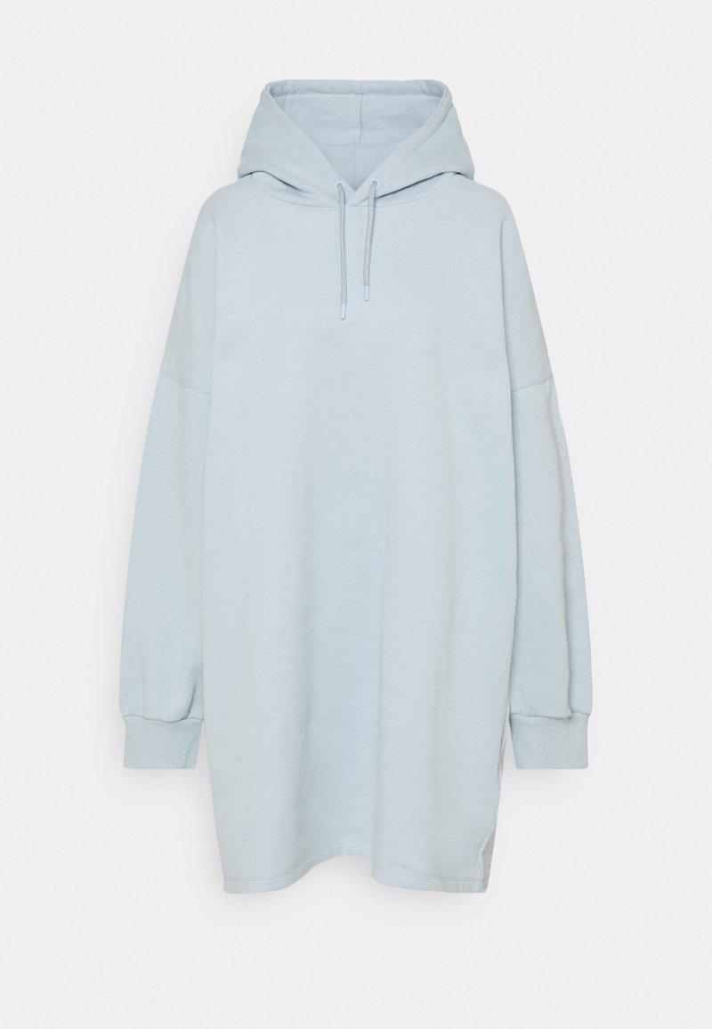 NU-IN - OVERSIZED HOODIE DRESS - Robe d'été - blue