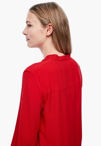 Q/S designed by - Button-down blouse - crimson red - 5