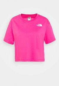 The North Face - CROPPED SIMPLE DOME TEE - T-shirts med print - pink - 4