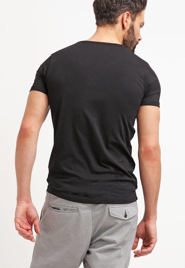 Petrol Industries 2 PACK - Basic T-shirt - black xGlIs