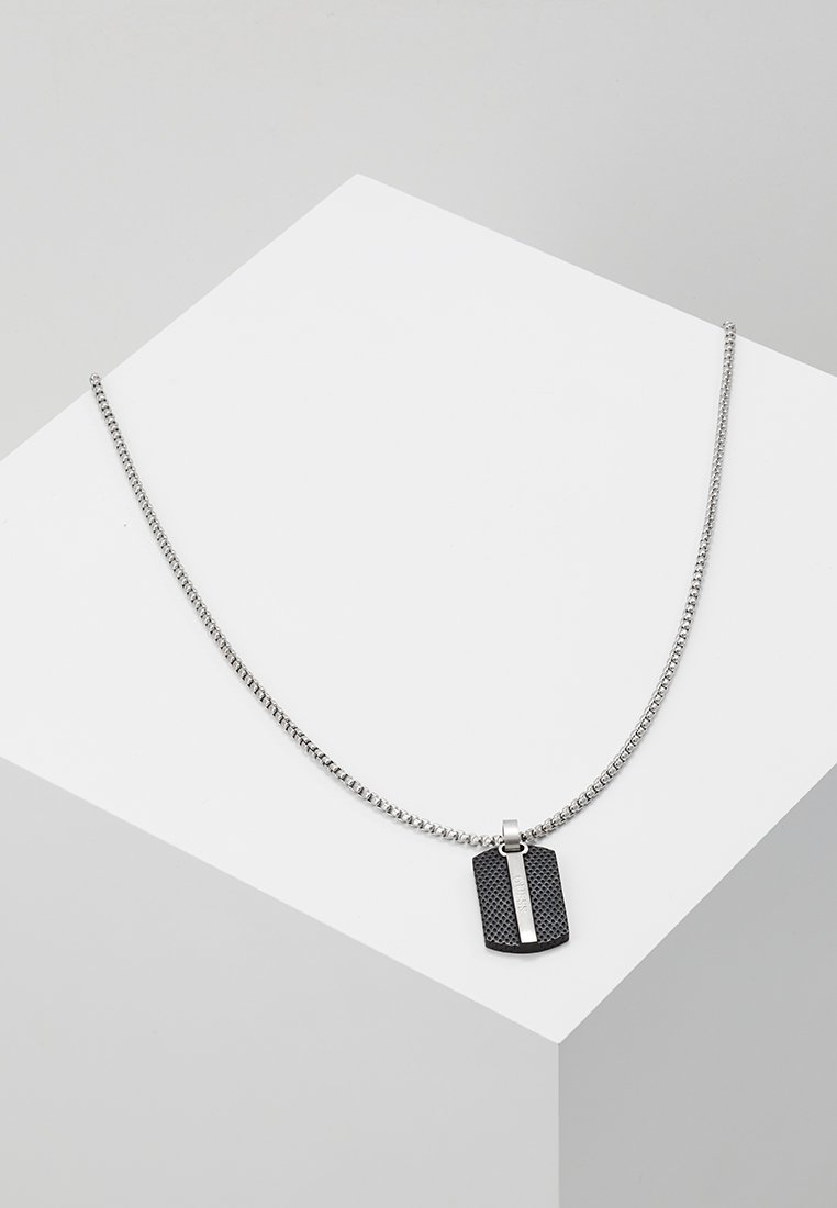 Guess - MAN IDENTITY - Necklace - silver-coloured
