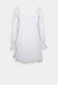 Hollister Co. - SHORT DRESS - Vestido informal - white - 7
