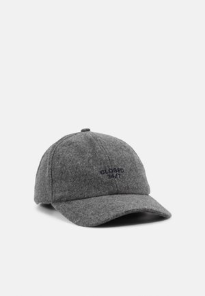 Cap - grey heather melange
