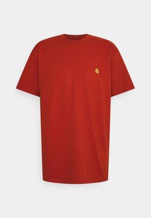 CHASE - T-shirt basic - copperton/gold
