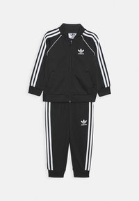 adidas Originals - TRACKSUIT SET - Tracksuit - black/white - 0
