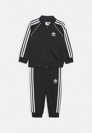 TRACKSUIT SET - Chándal - black/white