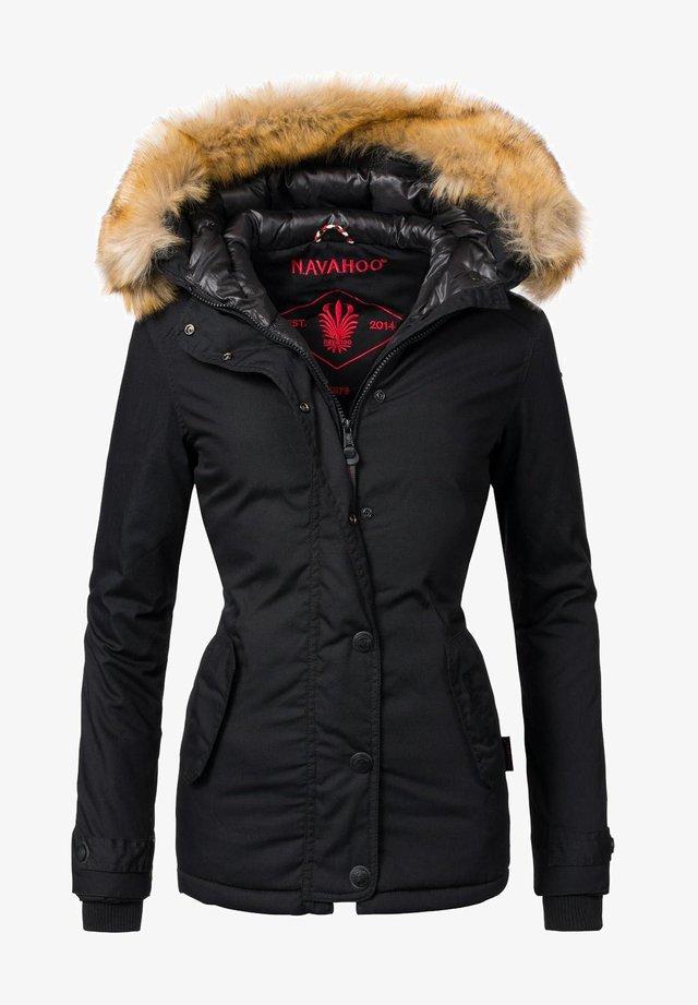 LAURA - Winterjacke - schwarz