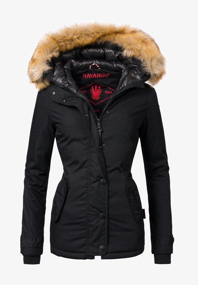Navahoo - LAURA - Winter jacket - schwarz