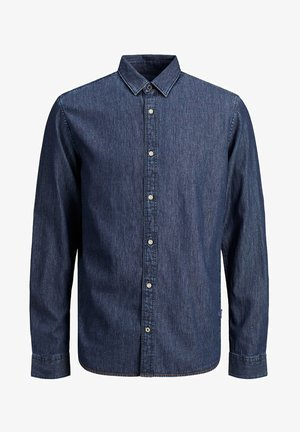 COMFORT FIT DENIM - Overhemd - dark blue denim