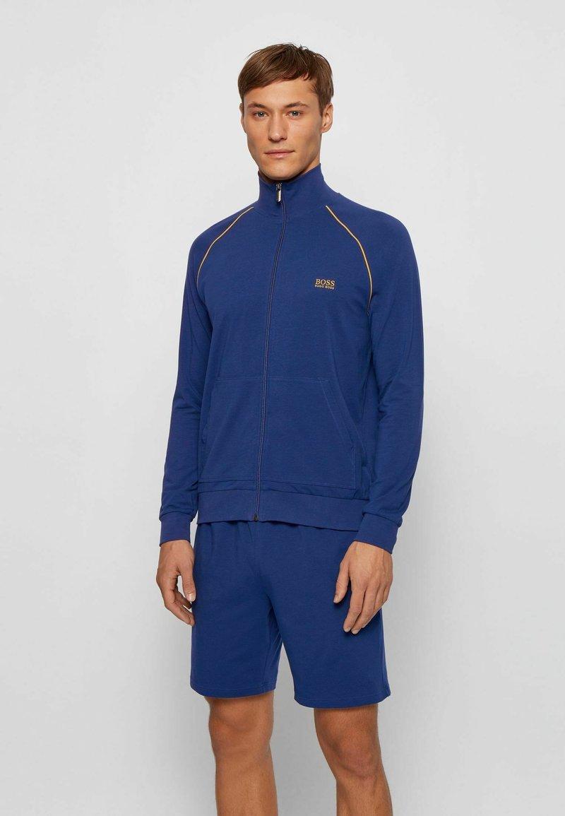 BOSS - Zip-up hoodie - blue