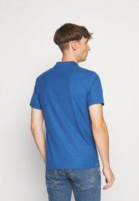 Calvin Klein - REFINED LOGO SLIM - Polo shirt - blue - 2