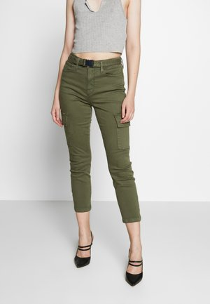 GOOD LEGS - Džíny Relaxed Fit - olive