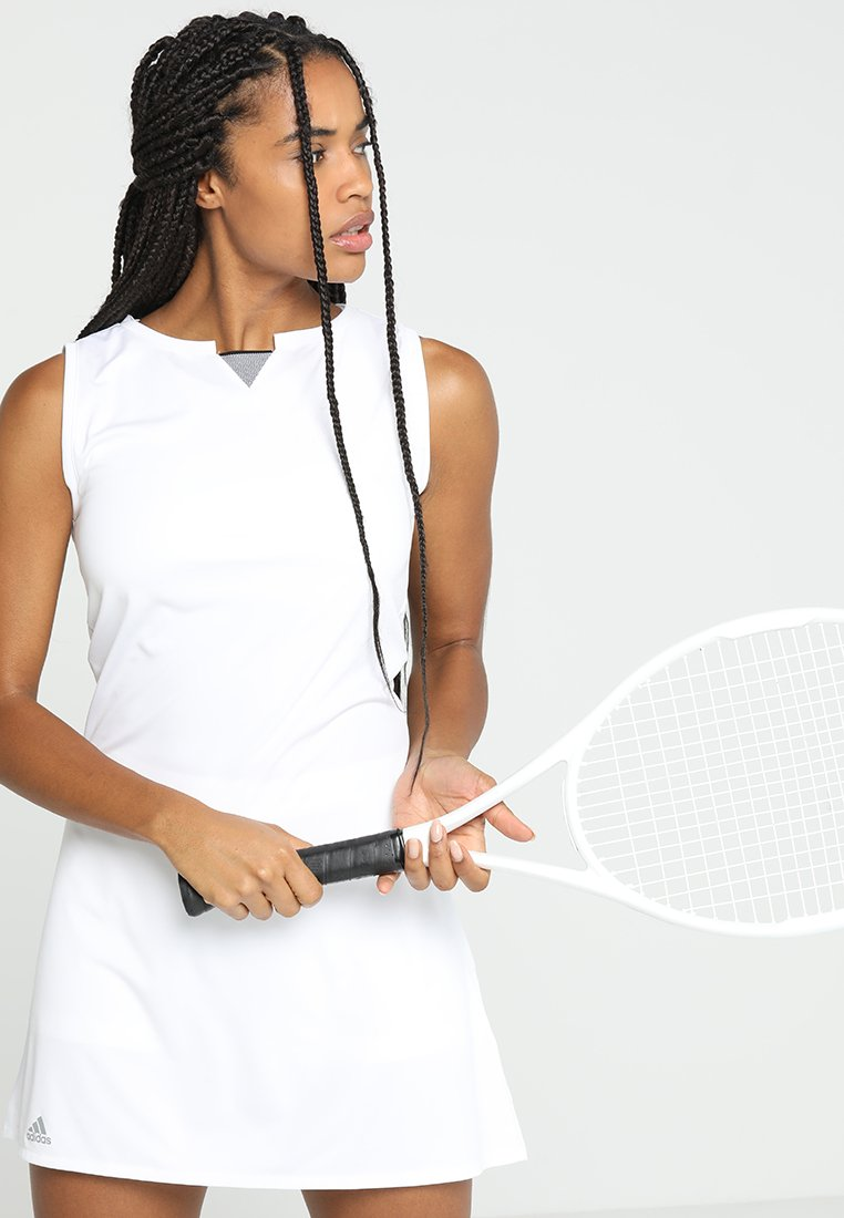 adidas Performance - CLUB DRESS SET - Sports dress - white