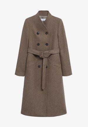 LUNA - Classic coat - kaffeebraun