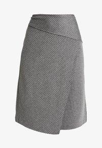 Soyaconcept - AMAJA - A-snit nederdel/ A-formede nederdele - dark grey melange - 3