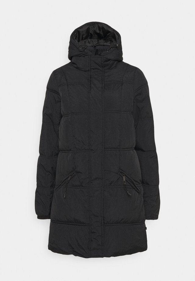 THE MOTHER MID LENGTH PUFFER - Winter coat - black