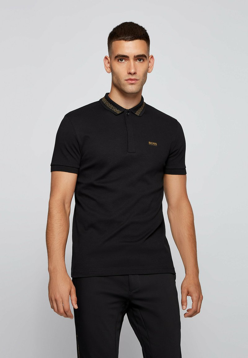 BOSS - PADDY PIXEL - Poloshirt - black