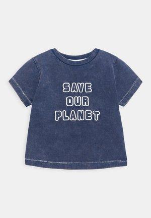 SAVE OUT PLANET  - T-shirt print - blue