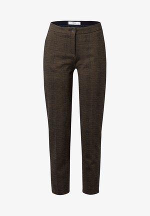 STYLE MARON - Trousers - walnut