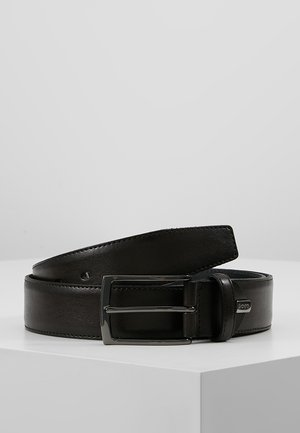 REGULAR BELT - Belt business - dark brown