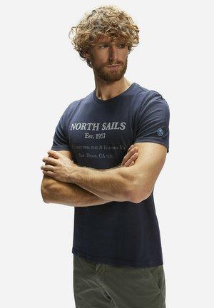 GRAPHIC - T-shirt imprimé - blue