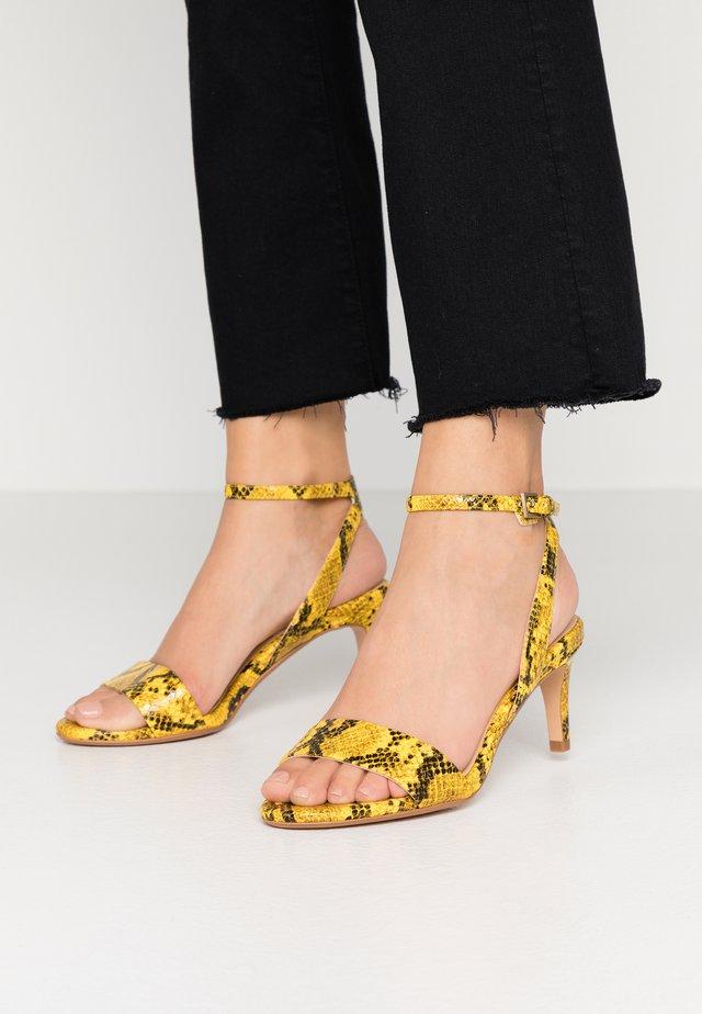 AMALI JEWEL - Sandals - yellow