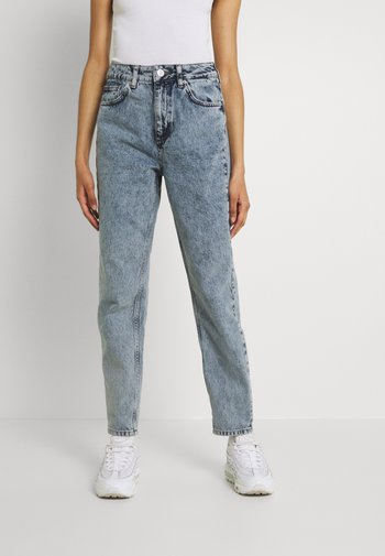MOM - Straight leg jeans - acid wash blue