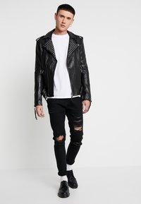 Tigha - ROYCE - Veste en cuir - black - 1