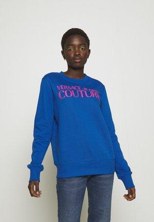Sweatshirt - blue/pink