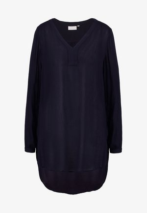 AMBER V NECK  - Tunika - midnight marine