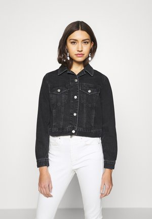 TILDA - Denim jacket - black denim