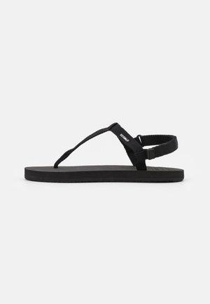 MALTA - T-bar sandals - black
