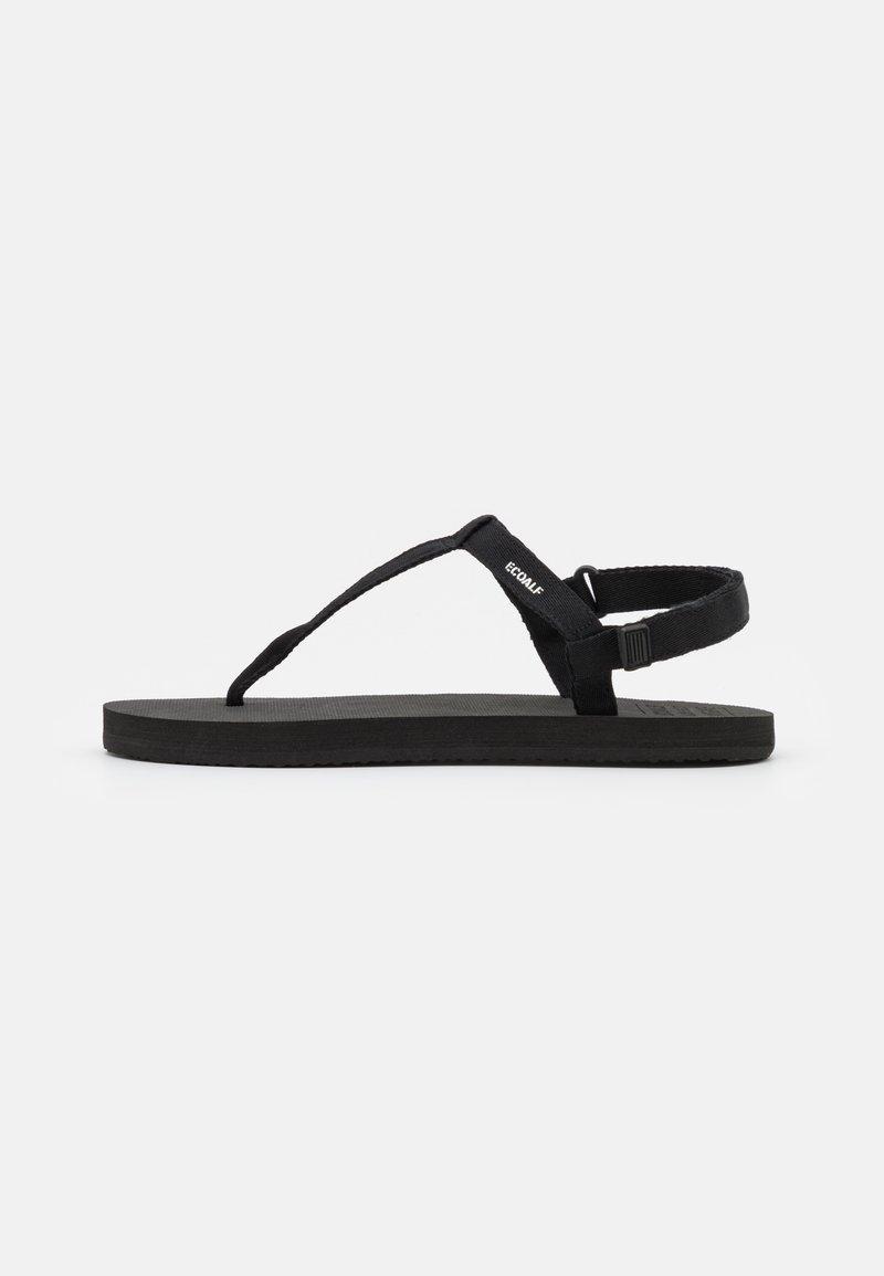 Ecoalf - MALTA - T-bar sandals - black