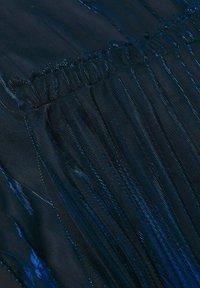 Mango - MOSQUETA-A - Pleated skirt - dunkles marineblau - 5