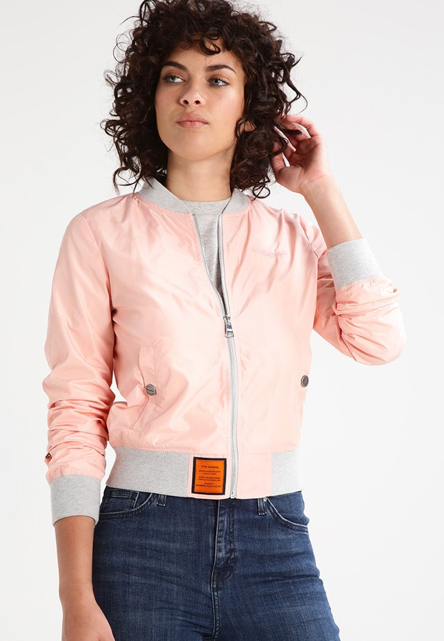 MA1 - Bomber Jacket - rose