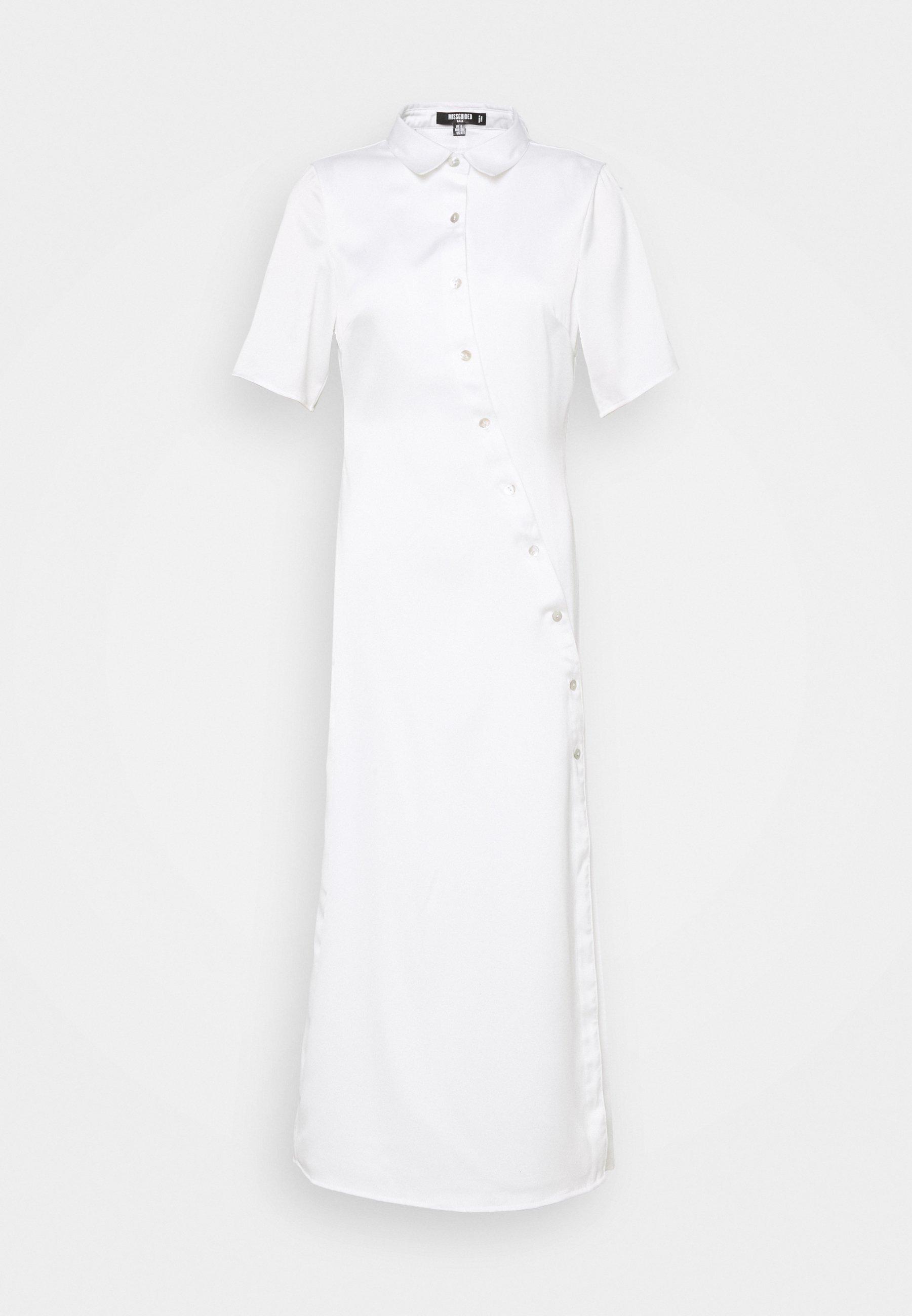 Women SHAPED PLACKET DRESS - Shirt dress