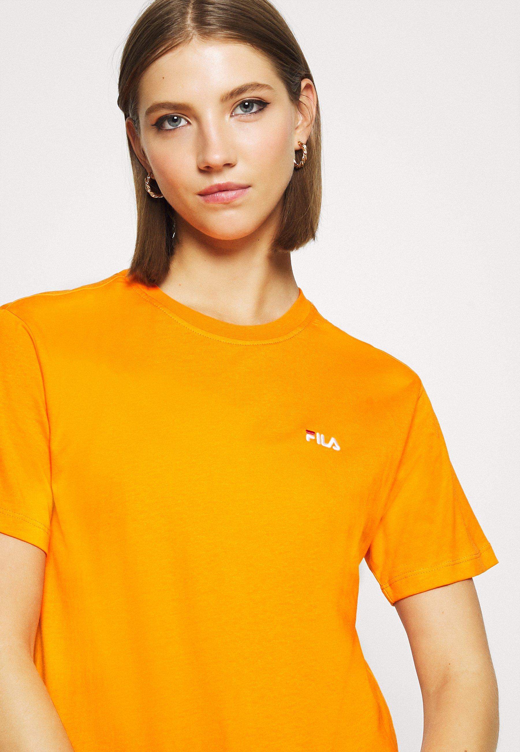 Fila Eara Tee - T-shirts Orange Popsicle/oransje