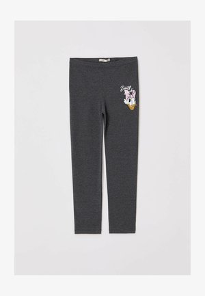 MICKEY MOUSE & FRIENDS - Leggings - Trousers - anthracite
