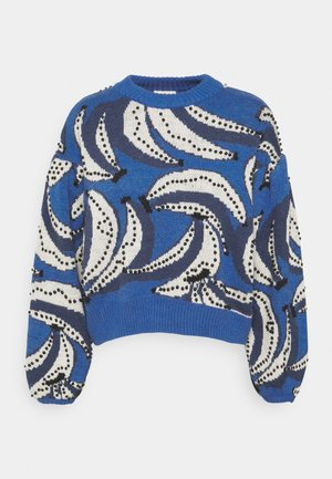 BANANA FLOWERS EMBROIDERED - Pullover - multi