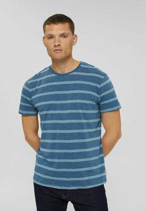 REGULAR FIT - T-shirt print - light blue, blue