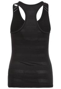 adidas Performance - TEAM 19  - Sports shirt - black / white - 1
