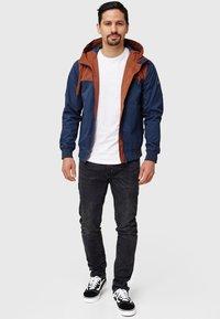 INDICODE JEANS - FLEMMING - Light jacket - rootbeer - 7