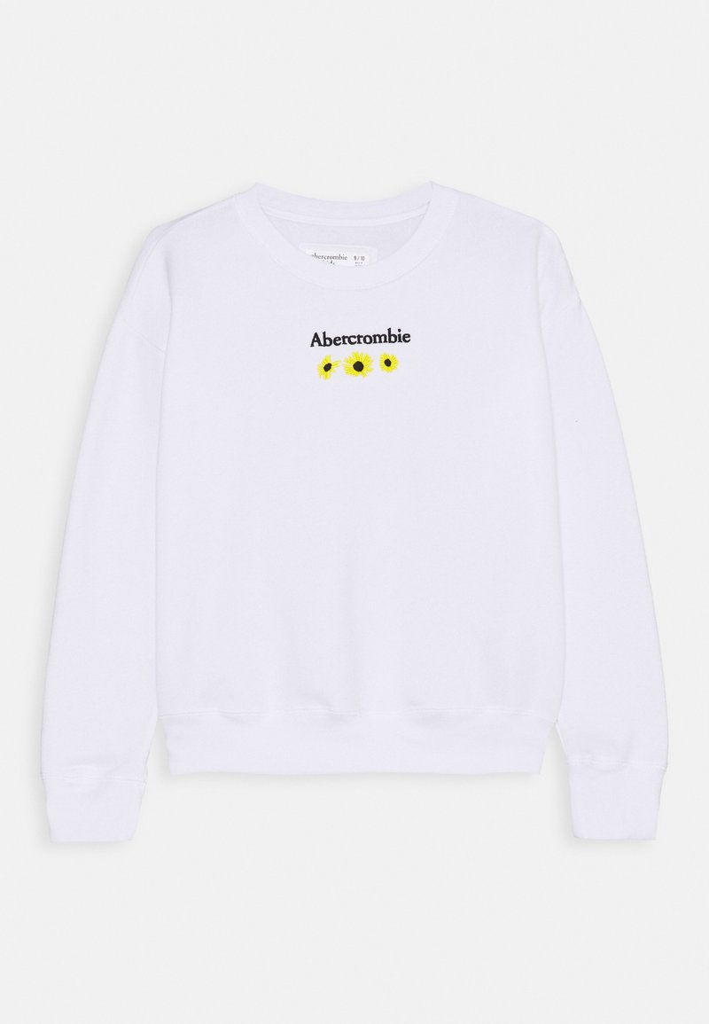 Abercrombie & Fitch - CREW - Sweater - white